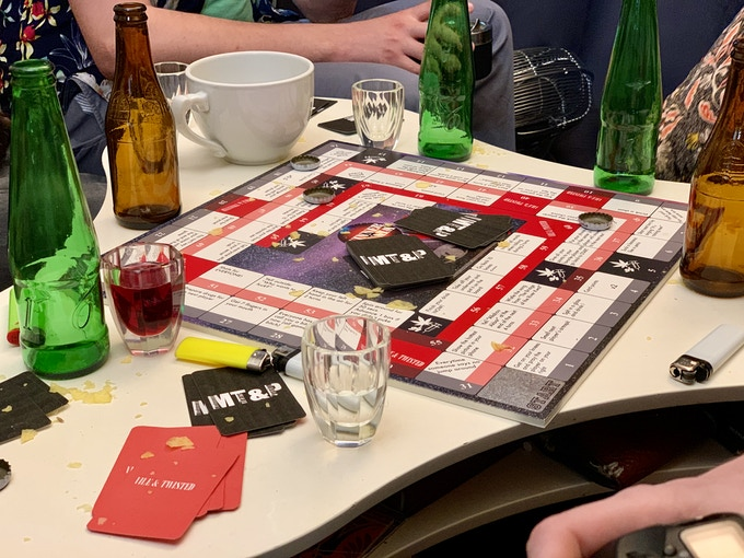 prototype play test (lost 2 friends...)