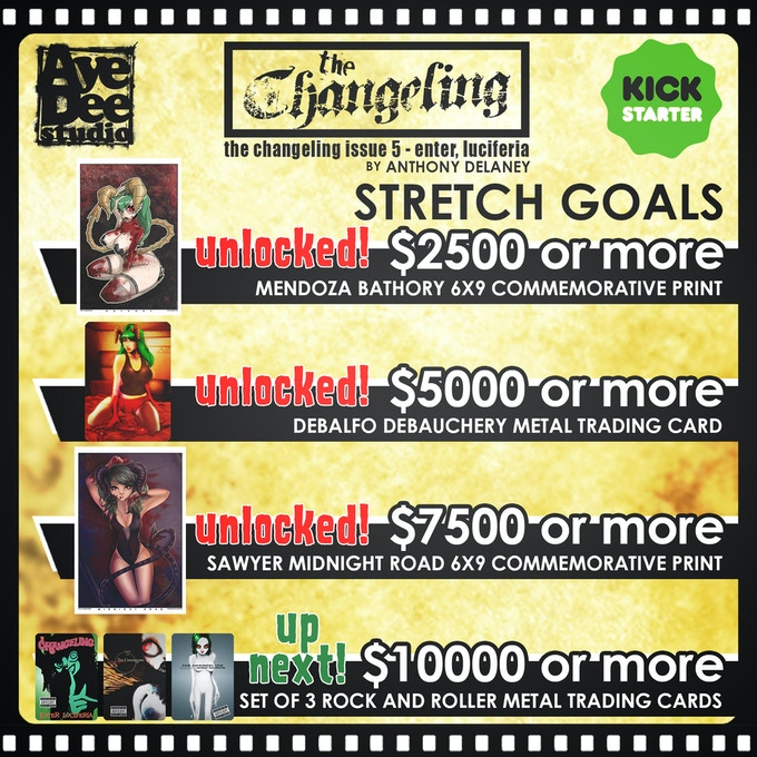 Current unlocked Stretch Goals!