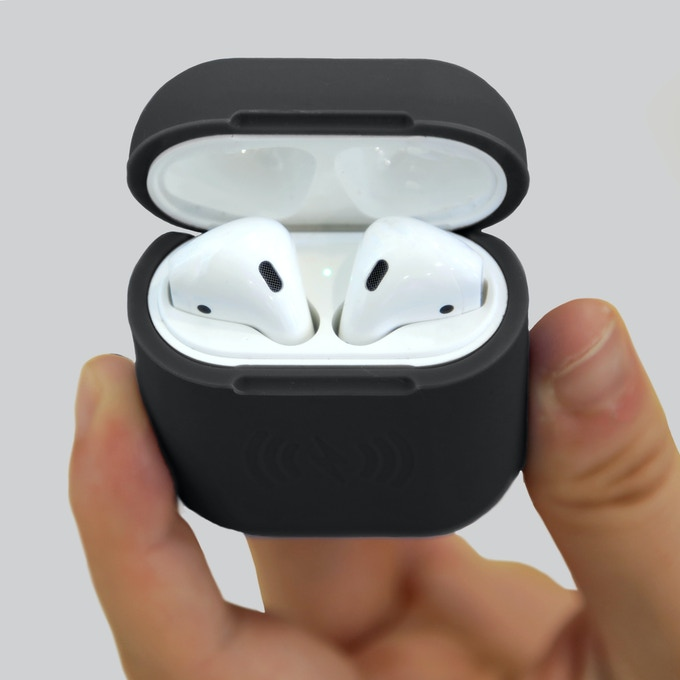 Meet SliQ: The first wireless charging Airpods case. Learn more about it by clicking here.