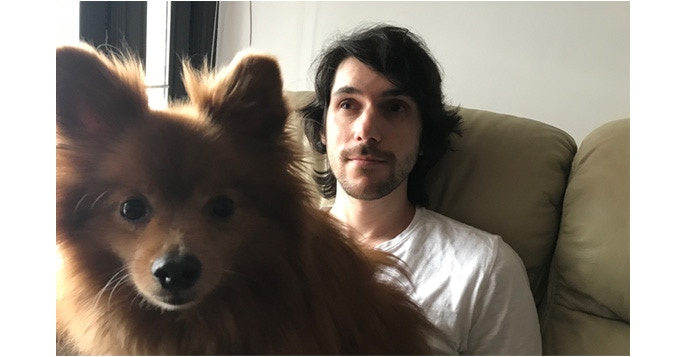 Jeremy Noghani, indie game developer (right)