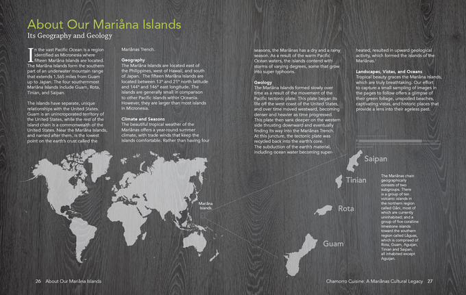 Unedited Draft of About Our Mariåna Islands | Credit: Gerard Aflague Collection
