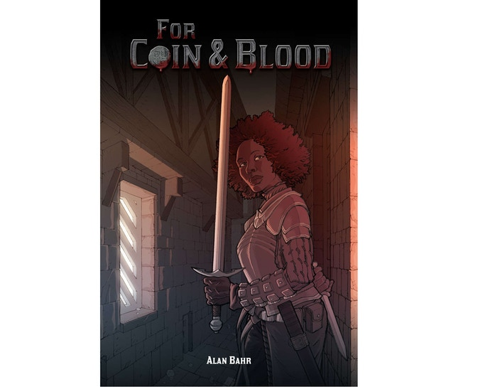 For Coin & Blood is a classically inspired d20 fantasy roleplaying game with a twist...a twist of the knife!
