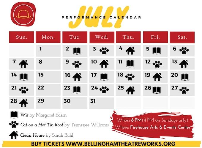 Our performance calendar