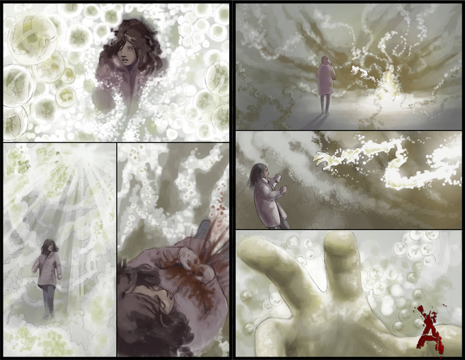 "Upcoming  Pages ""Amelia Enters The Void"""