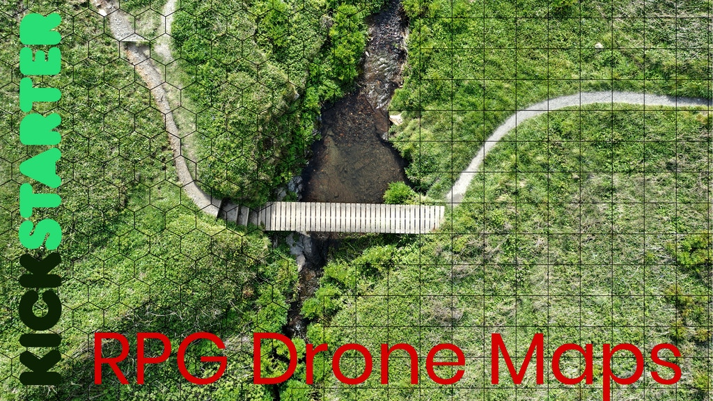 Drone Maps: RPG and Wargames Maps project video thumbnail