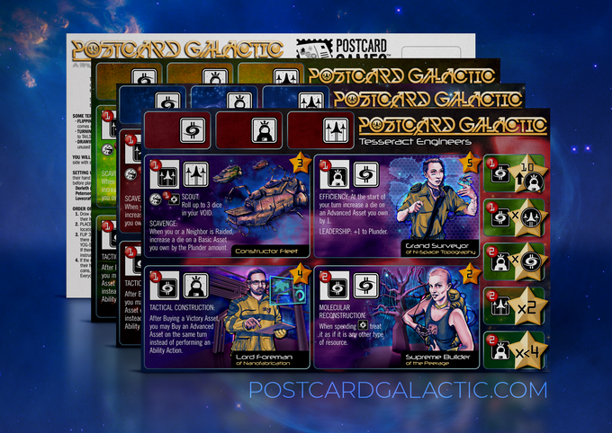 Postcard Galactic