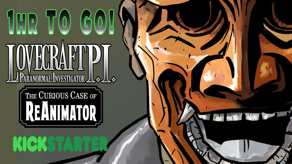 LOVECRAFT P.I. The Curious Case of ReAnimator~ Graphic Novel project video thumbnail