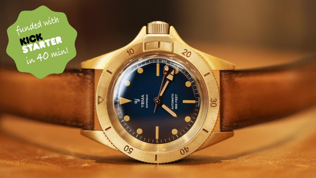 Project image for YEMA Superman Heritage Bronze | Iconic Dive Watch Reissue
