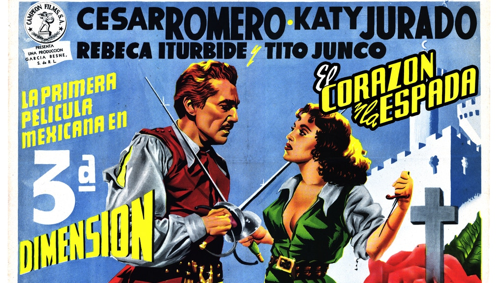 "3-D Digital Film Restoration ""El Corazón y la Espada""(1954) project video thumbnail"