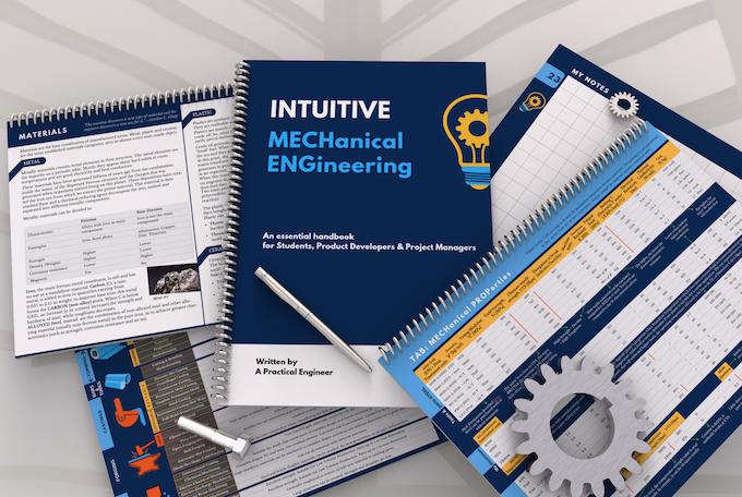 INTUITIVE Mechanical Engineering  World 1st visual Handbook