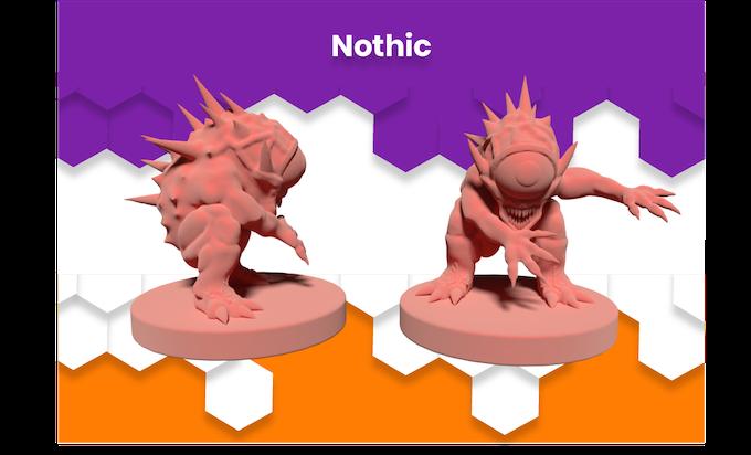 Anime Mini Nothic Monster