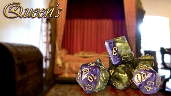 Returning Design - Colors: Royal Purple & Soft Gold - w/ Gold Ink