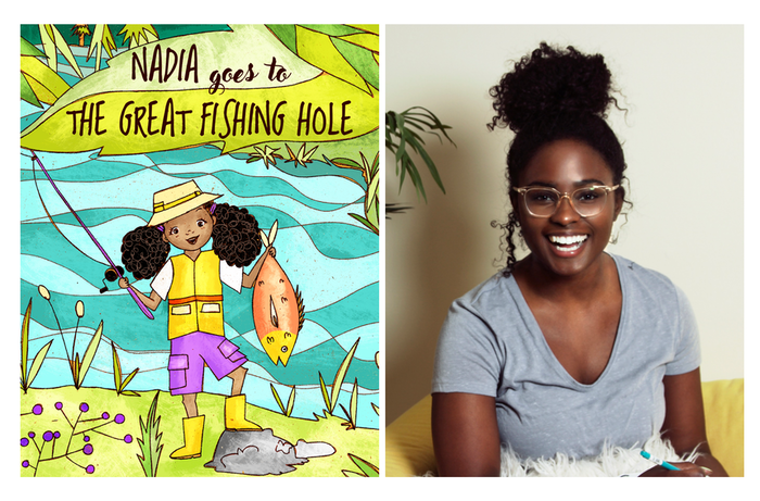 The Great Fishing Hole is a children's book written by a 1st-Gen Chemical Engineer to boost girls confidence to explore STEM!