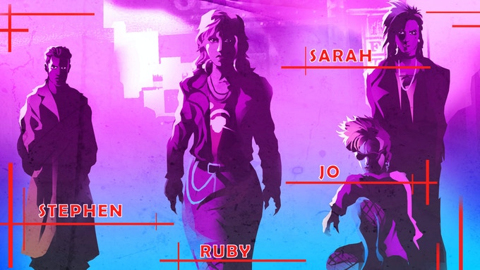RUBY : The animated Vampire saga