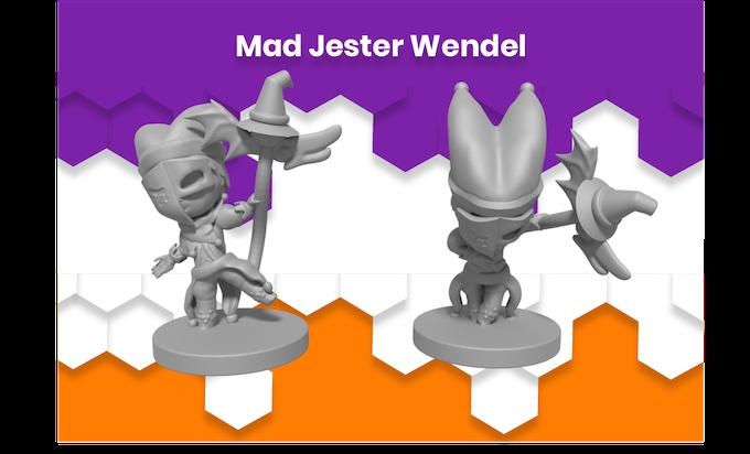 Anime Mini Mad Jester Wendel