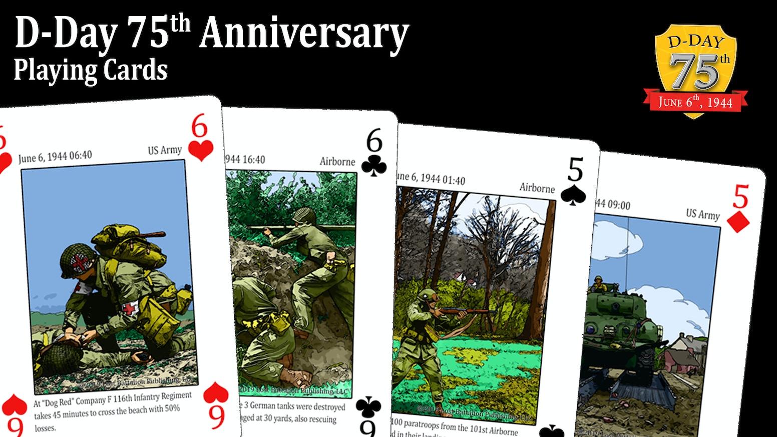 D-Day Playing Card Deck by Jeff Billings — Kickstarter