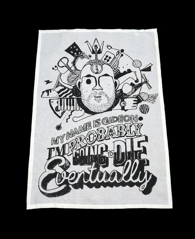 Theater show tea towel