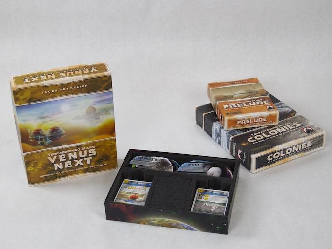 Terraforming Mars Expansion Box Insert by Mini Foam Studio
