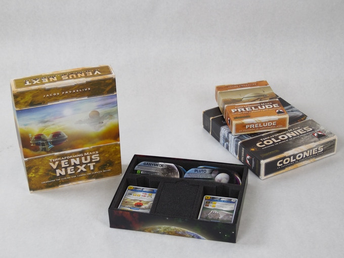 Terraforming Mars Expansion Box Insert by Mini Foam Studio