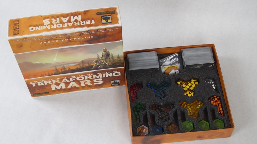 Project image for Foam storage insert for Terraforming Mars