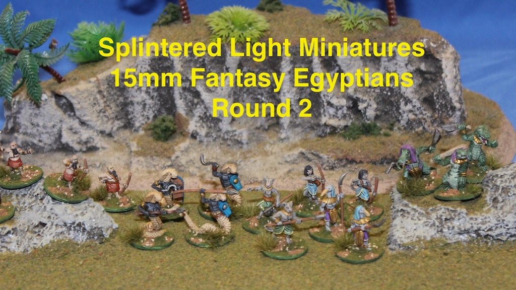 Project image for 15mm Fantasy Egyptians Round 2