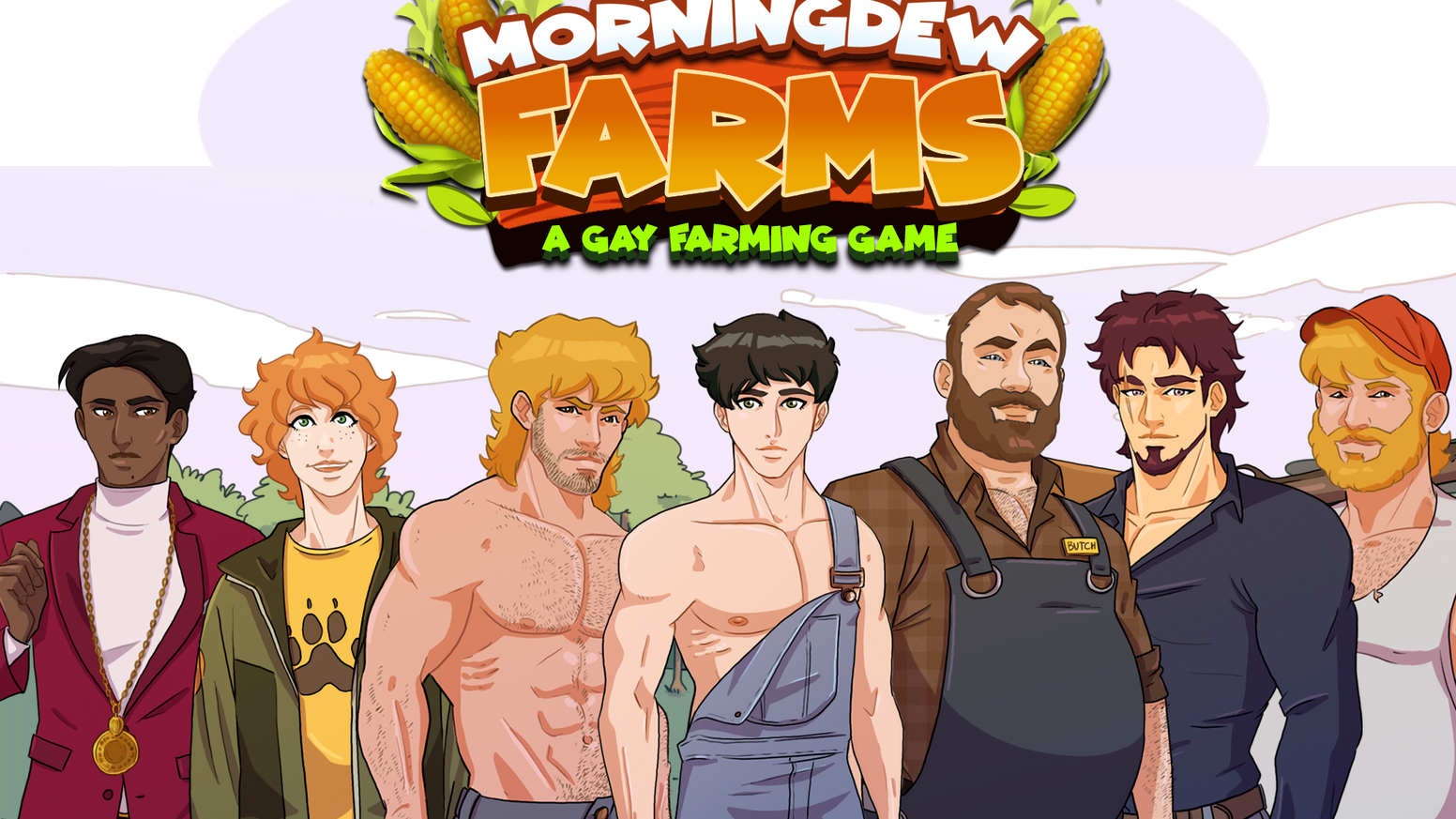 Sweet Southerner Cody finally realizes his dream of starting a farm in the Gayborhood of Morningdew! Fun farming and hot loving-Yeehaw!