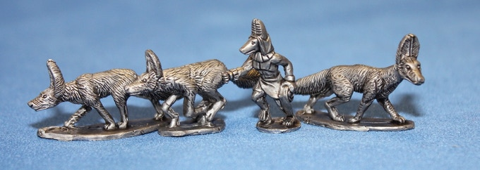 Anubis War Jackals and Handler