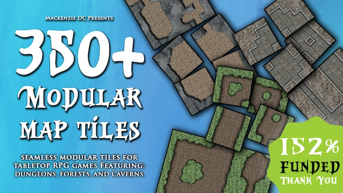350+ seamless print and play map tiles for Dungeons and Dragons. Includes Dungeon, Forest, and Cavern tiles.