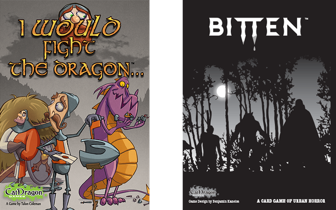 Catdragons previously published games!