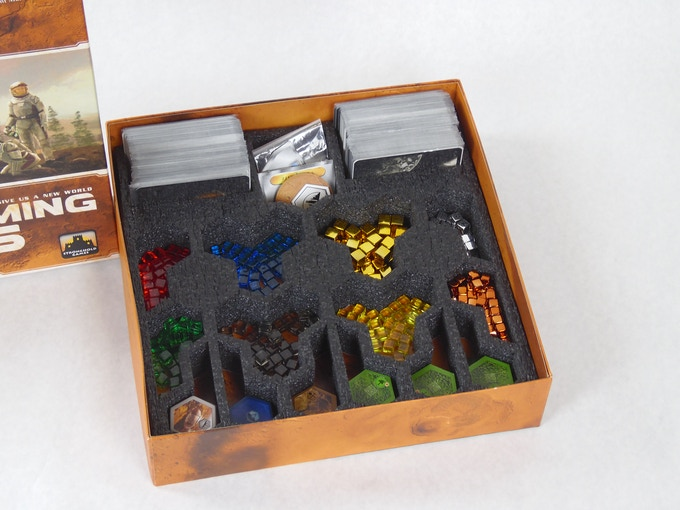 Terraforming Mars foam insert by Mini Foam Studio
