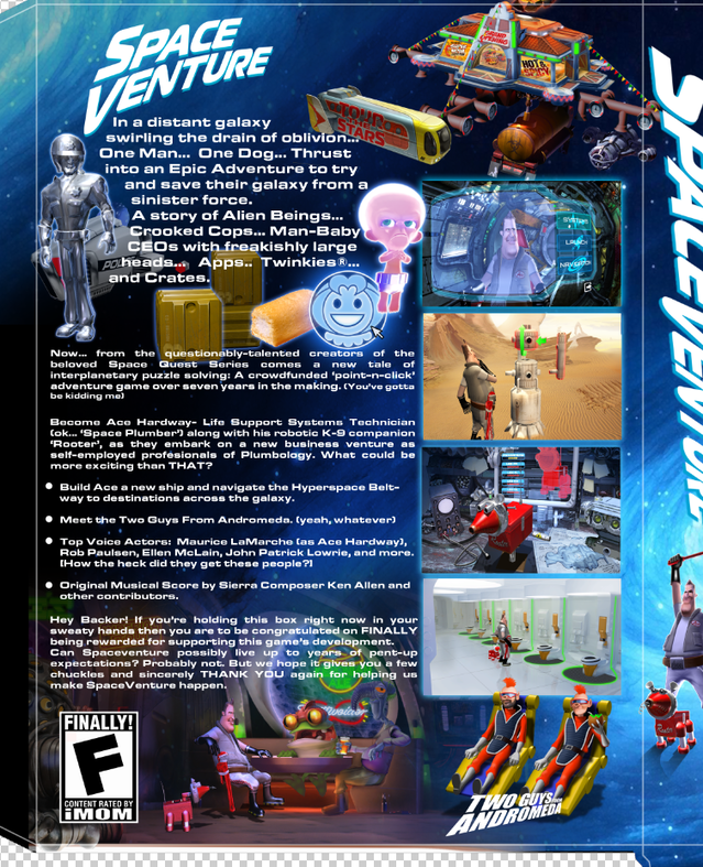 Two Guys SpaceVenture - by the creators of Space Quest by