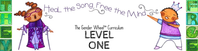 Playing with Pronouns is part of Level ONE of the Gender Wheel Curriculum - Language Acquisition and Inclusive Practices