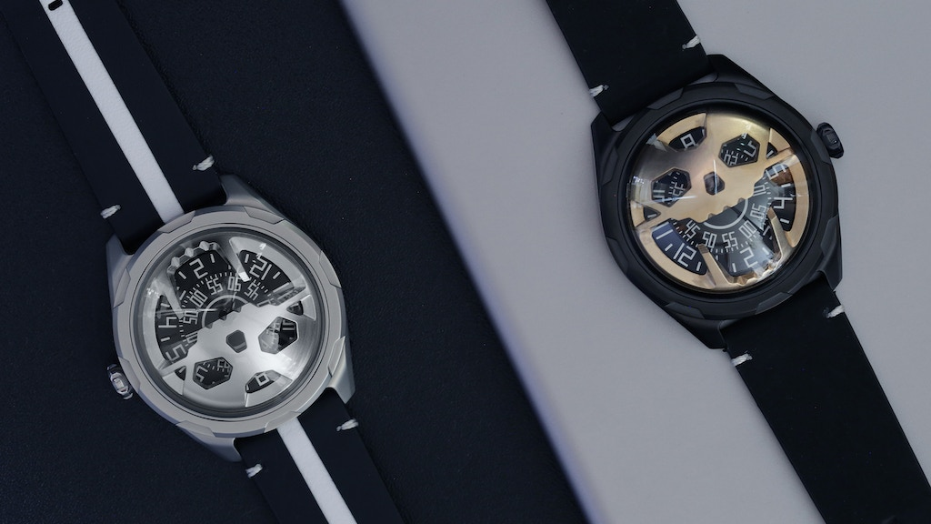AISION: The first Stereoscopic Skull Watch on Kickstarter project video thumbnail