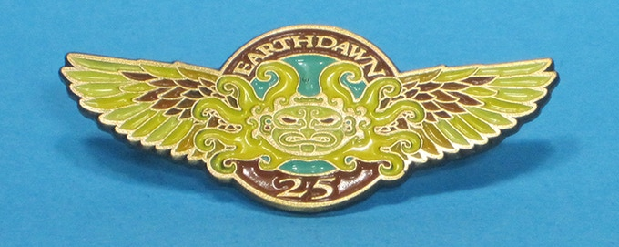 Earthdawn 25th Anniversary Pin