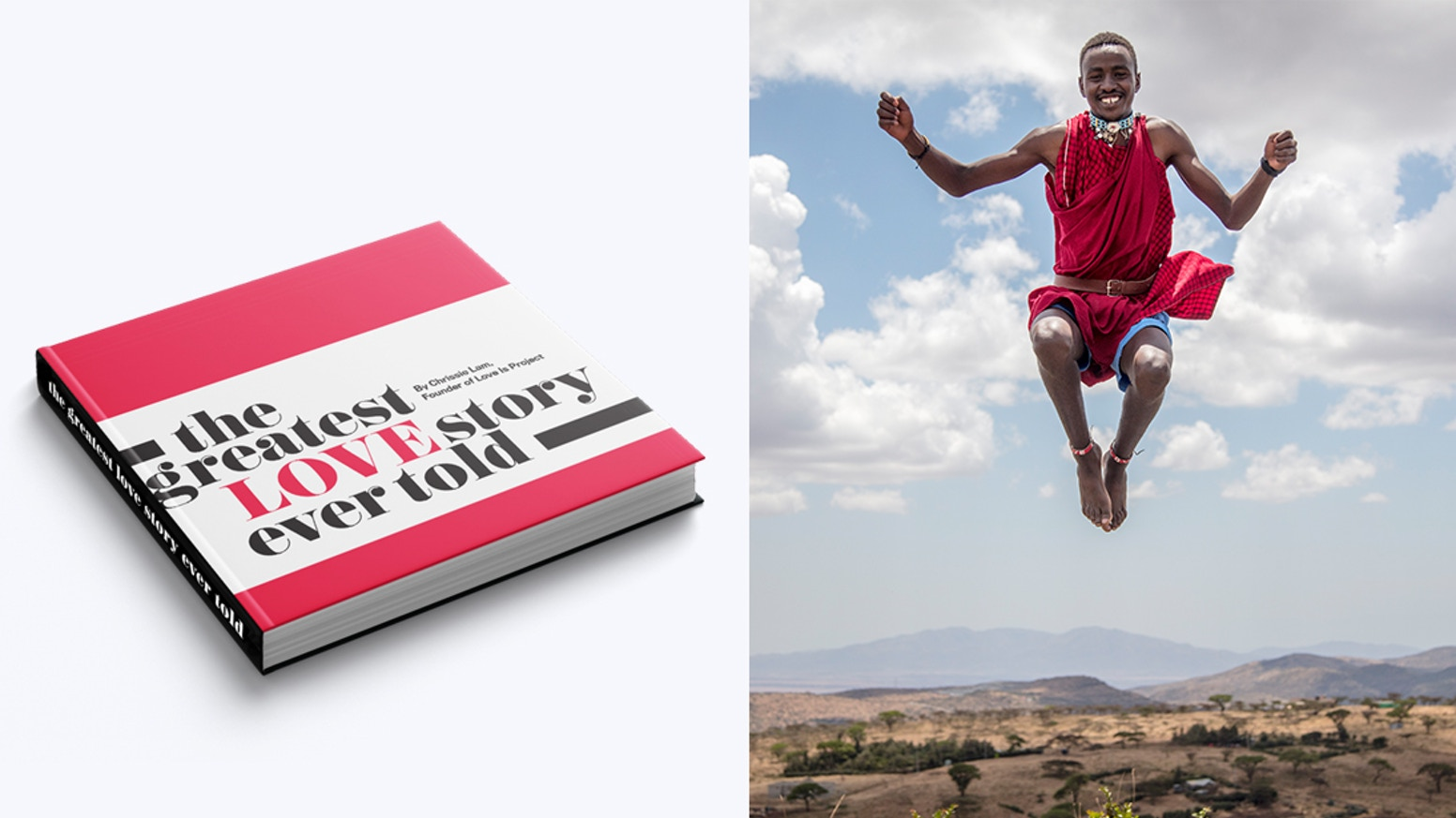 Feel connected through compelling stories and images captured in this stunning book that explores global perspectives on love