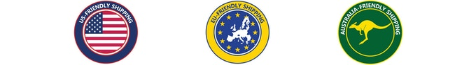 "The USA, European Union and Australia are ""Shipping Friendly.""  Backers from these countries will not be charged import taxes."