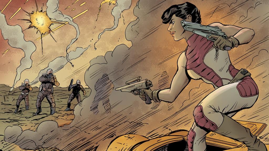 TREKKER: BATTLEFIELDS Graphic Novel project video thumbnail