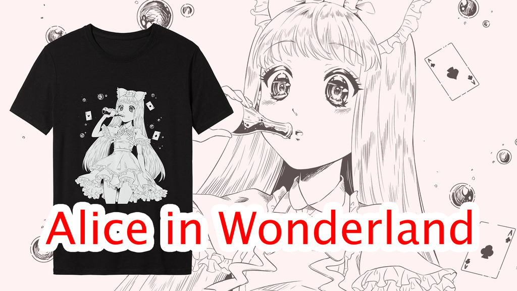 Project image for Alice in Wonderland - Wonder Cola - Tshirt
