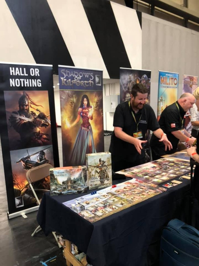 UKGE Press Preview for 1066, Tears to Many Mothers and Shadows of Kilforth