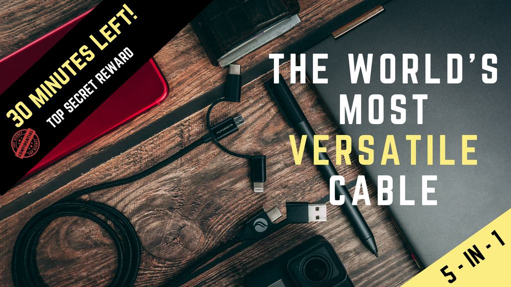 Chimera 5-in-1 Cable | The World's Most Versatile Cable project video thumbnail