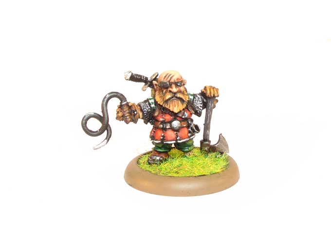 Dwarf Bounty Hunter