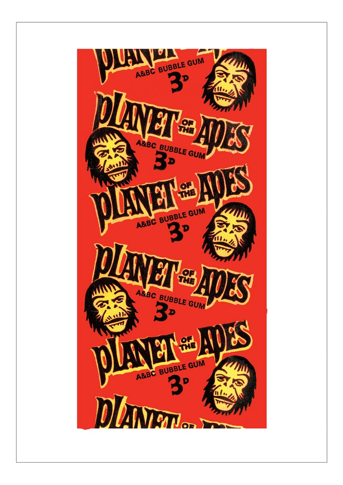 A4 Planet Of The Apes print