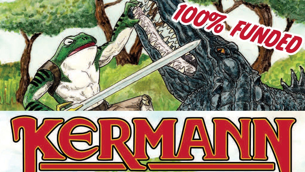 Project image for Kermann - The Comic Book
