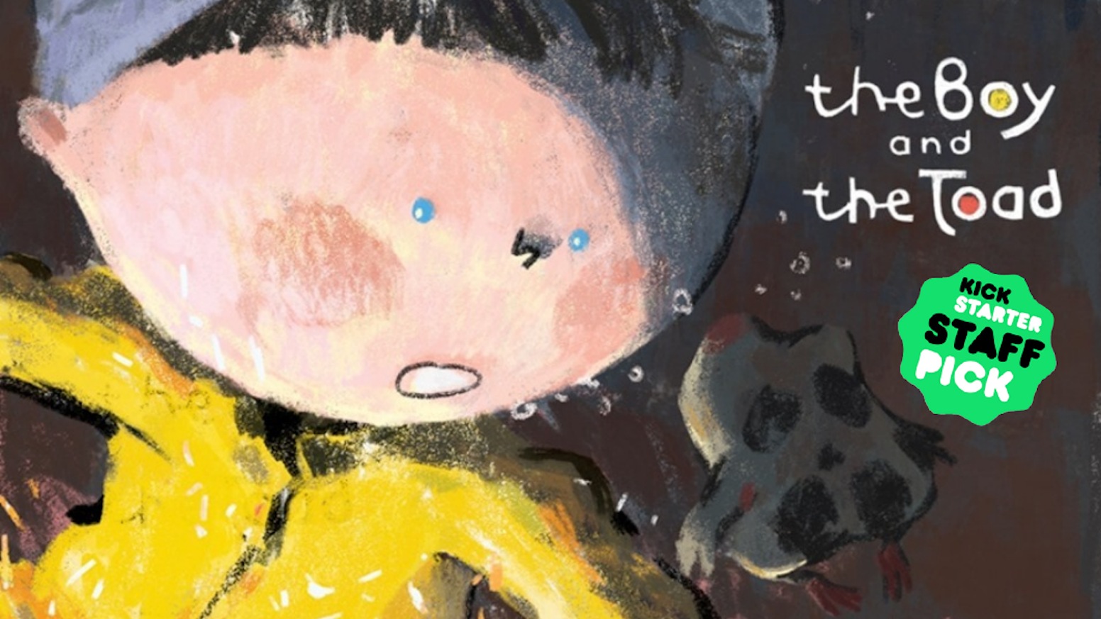 A Boy, a Toad and the dreamy underwater Kingdom of Canalia in an illustrated poetic tale!