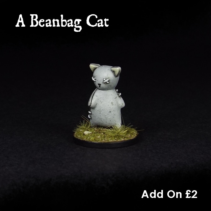 Little Puss can be added to your pledge, all on her lonesome, for £2