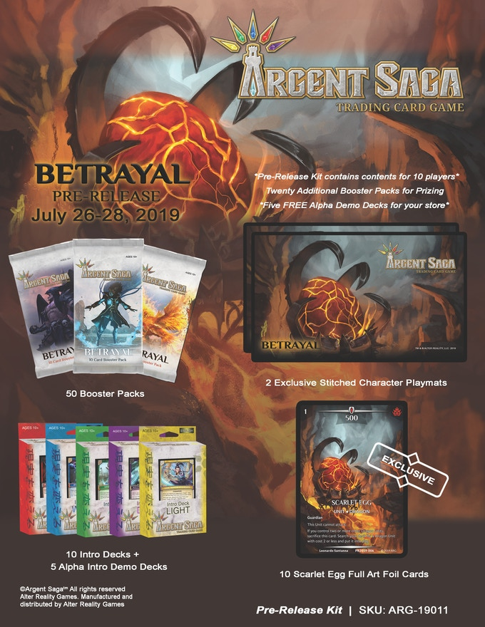 Pre-Release Tournament Kit (Brick and mortar retailers only)