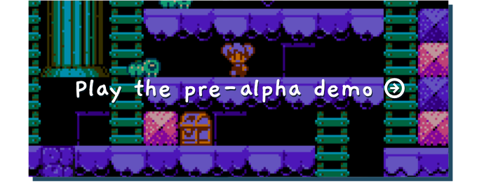 This is a pre-alpha demo. There are a few bugs and it's missing many of the features that will be in the final game!