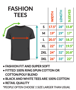 Approximate Shirt Sizing