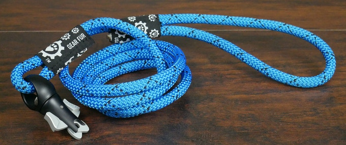 Climbing Rope Leash - Blue