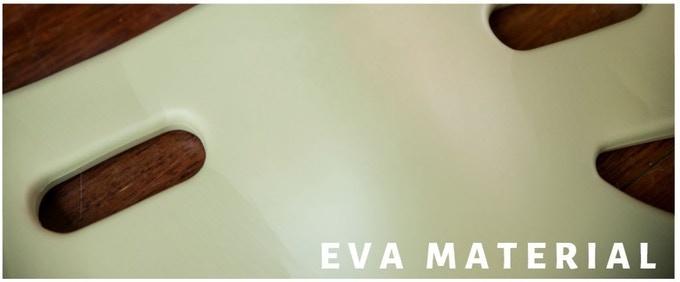 Ethylene-vinyl acetate (EVA) is the copolymer of ethylene and vinyl acetate